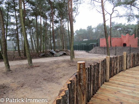 Exihibit 1 at at Safaripark Beekse Bergen