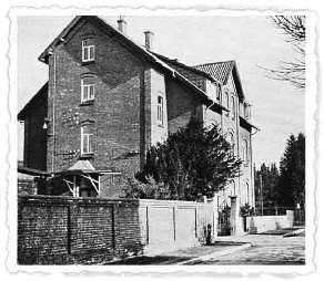 Picture of the Quarantine Station at Alfeld (Hamburg), Germany