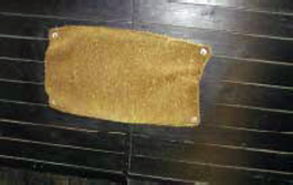 floor mat for an okapi